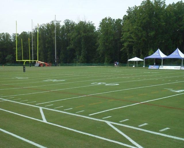 Latitude Baltimore Ravens practice field